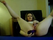 Pelada na webcam consolando o cuzinho